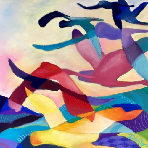 Contemporary/Abstract - 2nd - Danielle Williams - Birds