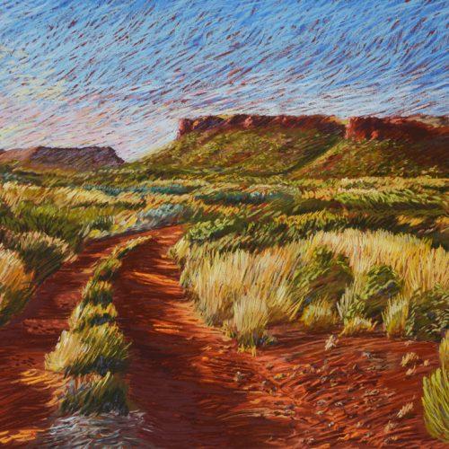 Landscape - 1st - Megan Dixon-Dawes - Track to the Diebil Hills WA-