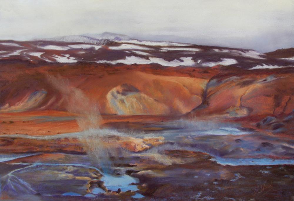 Landscape - Winner - Dot Ward - Iceland Hot Spring