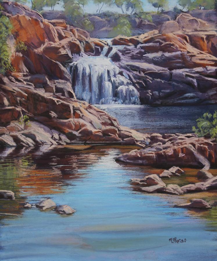 Landscape - Commended - Margaret Moran - Top Falls- Edith River NT
