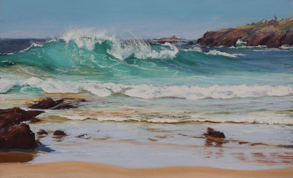 Seascapes - Highly Commended - Margaret Moran - Big Wave Billy's Beach
