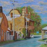 BACK STREET-GRENFELL NSW by Eric Strachan