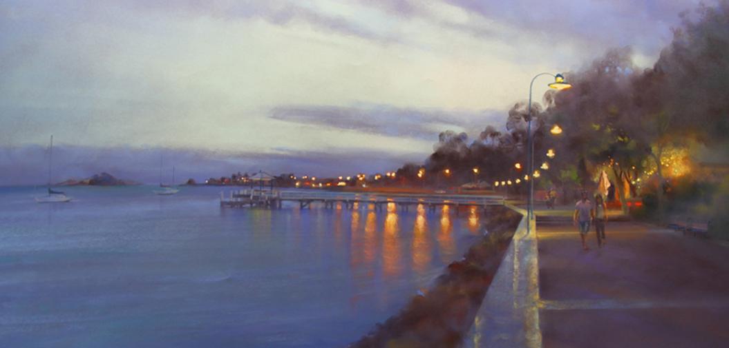 Best by SCPS member - Grace Paleg - Bay Boardwalk at Twilight