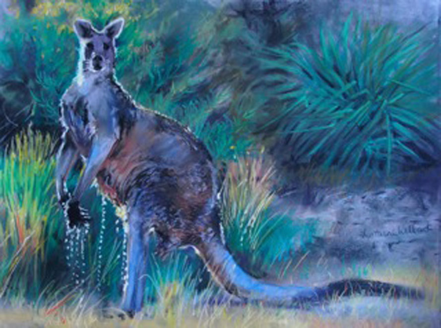 Still Life/Flora/Fauna -Highly Commended - Lorraine Willcroft - He Swam Across the Creek