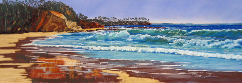 Seascape - Commended - Lyn Woolridge - Sunshine Bay Reflections