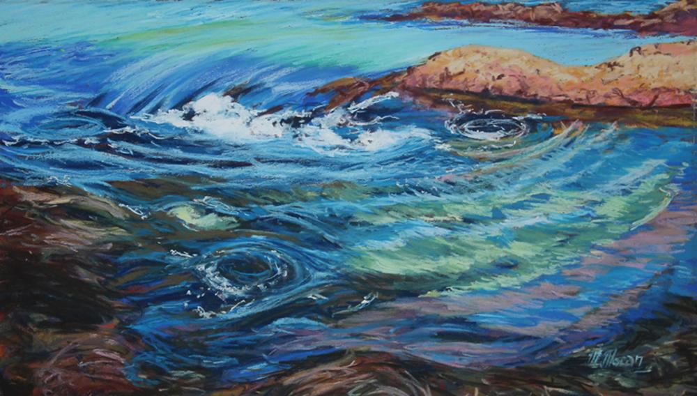 Seascape - Winner - Margaret Moran - Low Tide Surge