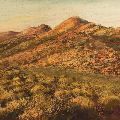 CANNING STOCK ROUTE SUNRISE - Sold