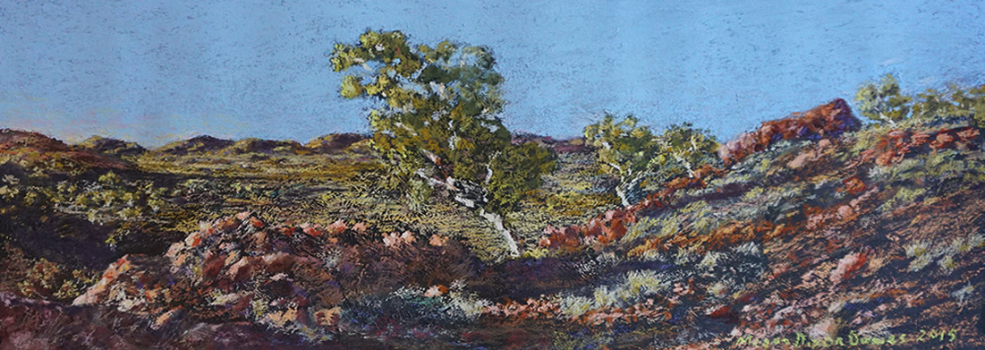 HARSH COUNTRY 111 MT ISA SUNRISE - 840mm x 470mm