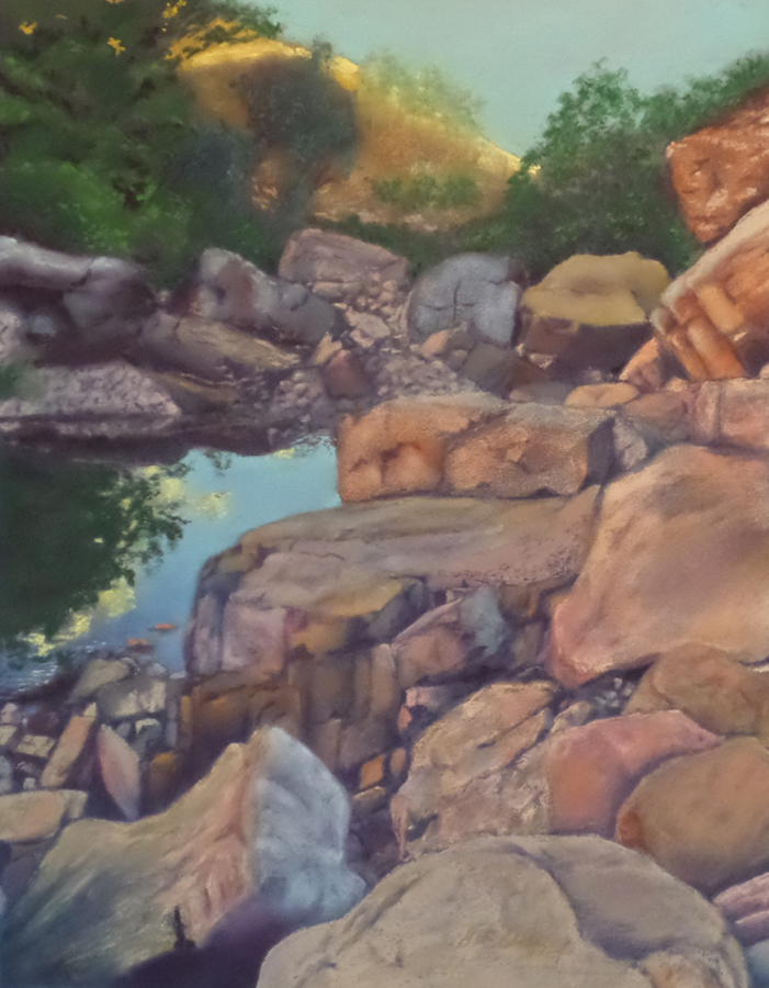 Landscape - Commended - Jim Chaffey - Spill of Rocks