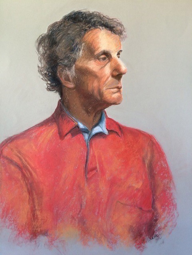 The Red Shirt - 72cm x 52cm