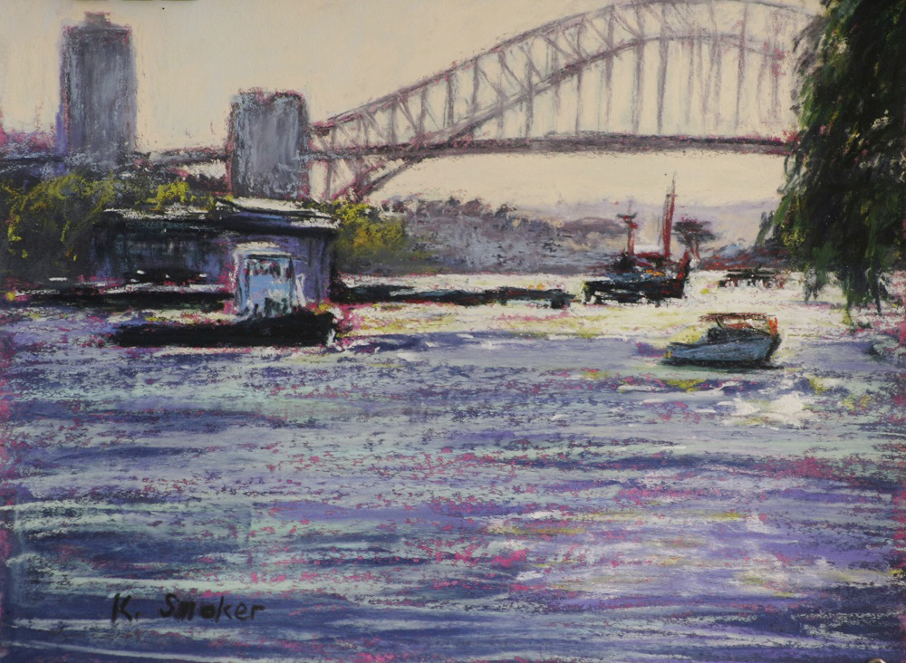 Early Morning-Snails Bay - 9 x 12in