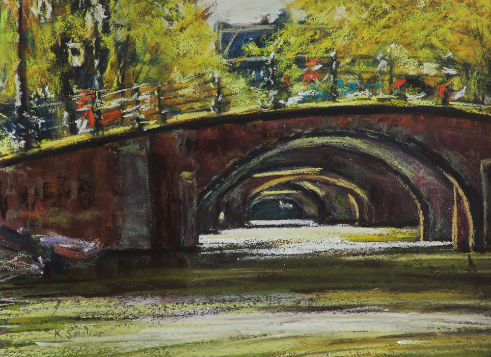 Seven Bridges-Reguliersgracht -  9 x 12in